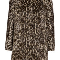 Giambattista Valli - Leopard-print wool-blend coat