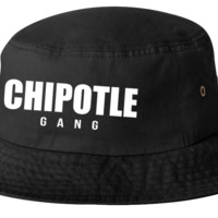 Chipotle Gang bucket hat template