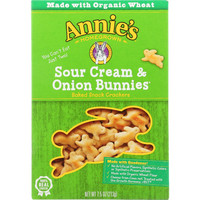 Sour Cream and Onion Bunnies Crackers - 7.5 oz