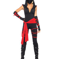 Deadly Ninja Adult Halloween Costume - Leg Avenue 85087