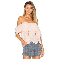 Lovers + Friends Life's A Beach Top Nude