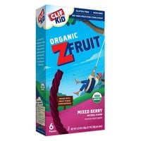 Clif Kid Organic Z Fruit Rope Mixed Berry - 6ct
