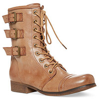 Madden Girl Boots, Ginghamm Booties - Shoes - Macy's