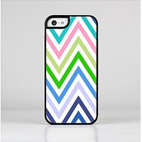 The Fun Colored Vector Sharp Chevron Pattern Skin-Sert Case for the Apple iPhone 5c