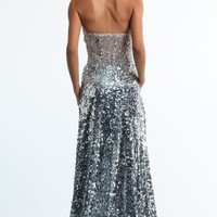 Strapless Sweetheart Gown by Dave and Johnny