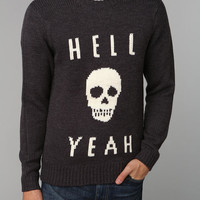 Urban Outfitters - Glamour Kills Hell Yeah Skull Sweater