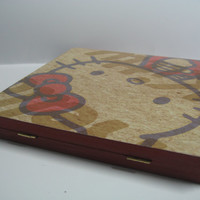 Hello Kitty Blue and Red Apples Magnetic Freedom Makeup Palette