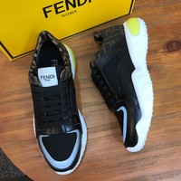 FENDI   Men popular Boots popularable Casual leather Breathable Sneakers Running Shoes