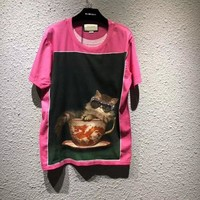 NEW 100% Authentic gucci 2018ss fashion t shirt  ※011