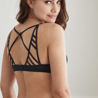 Caged Strappy Push-Up Bra