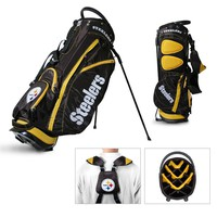 NFL Pittsburgh Steelers Fairway Golf Stand Bag FREE SHIPPING!