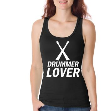 Drummer Lover Funny Womens Tank Tops