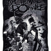 My Chemical Romance The Black Parade Throw Blanket