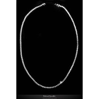 Hazel Classic Tennis Necklace Set | 29 Carat | Cubic Zirconia