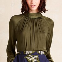 Maurizio High-Neck Blouse