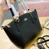Coach fashionable new single-shoulder bag pure color hot seller of casual ladies' shopping bag