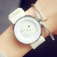 Womens Mens Simple Casual Watch Gift - 542