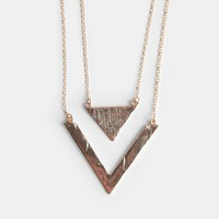 South Bound Geometric Necklace