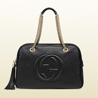 Gucci - soho leather chain shoulder bag 353126A7M0G1000