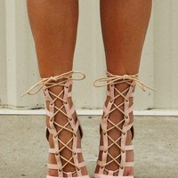 Shes All That Heels: Nude
