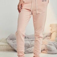 Tommy Hilfiger Pale Blush Joggers - Urban Outfitters
