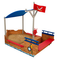 KidKraft Pirate Sand boat - 00128