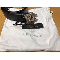 Versace Palazzo Calf Leather Belt Size 100/40