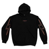 ORANGE GLOW FLASH HOODIE