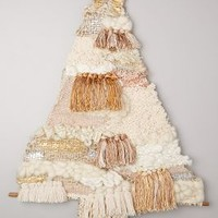 Fringed Tree Tapestry by All Roads Design Neutral One Size Wall Decor