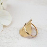 Solo Gold Ring