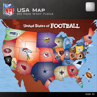 Masterpieces 500-Piece NFL Map Puzzle