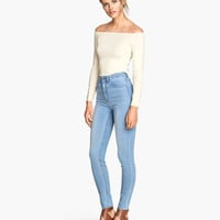 Trousers High waist - from H&M