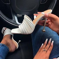 Women's Shoes High Heels Multi Section Gender High Heels Roman Women's Shoes