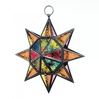 Multifaceted Hanging Star Lantern