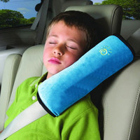 Children Car Seat Belt Cover Cushion Kids Soft Sleep Pillow Shoulder Harness Pad Faux Suede High Quality Strap Car Accessories
