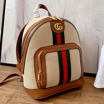 GUCCI 2020 new retro high-end men and women backpack bag