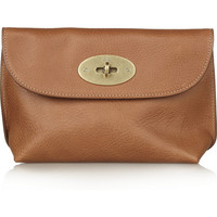 Mulberry|Textured-leather pouch|NET-A-PORTER.COM