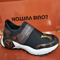 Louis Vuitton LV shoes all-match casual shoes men and women fashion casual sports shoes hot sale