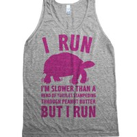 Athletic Grey Tank | Funny Lazy Shirts
