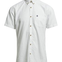 Selected Homme Collect Shirt Ss R H (White) - In Stock! - Fast Delivery with Boozt.com