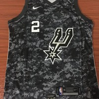 San Antonio Spurs #2 Kawhi Leonard City Edition Swingman Jersey