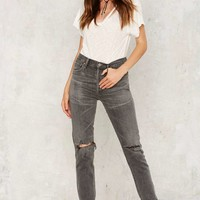 Citizens of Humanity Liya High Rise Jeans - Dark Gray