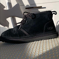 UGG hot-selling snow lace-up Martin boots fashion simple hand-sewn non-slip high-top boots fashion men and women Shoes Black