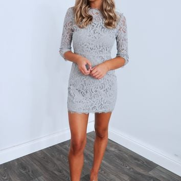 Dreaming Of This Dress: Heather Grey