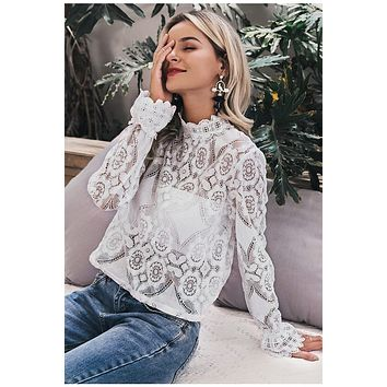 Lalie Lace Blouse
