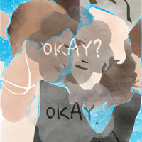 The Fault in Our Stars-Hazel and Gus #2 Canvas Print by Anthony Londer | Society6