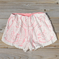 Laced In Snow Shorts