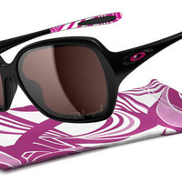 Polarized Oakley Overtime Breast Cancer Awareness Edition