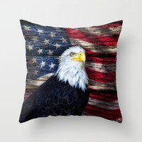 United We Stand Throw Pillow by Photography By MsJudi