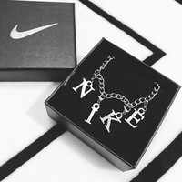 NIKE fashion trend must-have high-end atmosphere nike necklace F-AA-XDD